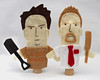Shaun of the Dead Custom Finger Puppets
