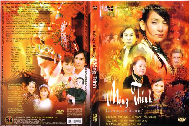 TT Vân Sơn – Cải Lương – Mộng Trinh – DVD5/DVD9/ISO/DVDRip