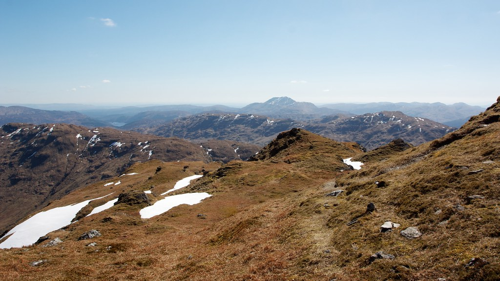 Ben Lomond from Beinn Chabhair