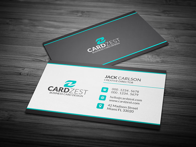Clean Professional Corporate Business Card Template Flickr