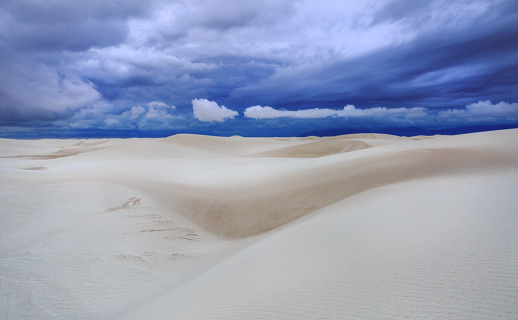 Stormy White Sands National Monument, NM