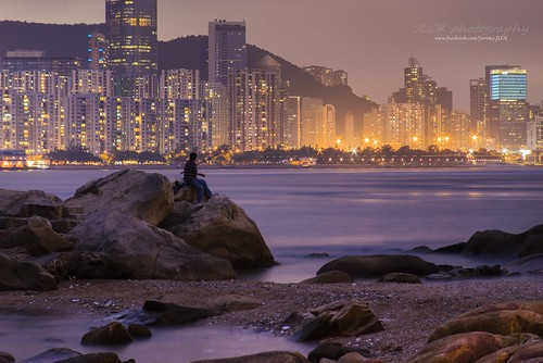 sunset sea sun seascape hongkong sony manual kalima 135mm victoriaharbour a7r