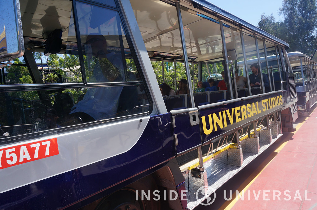 Inside Universal's New 50th Tram