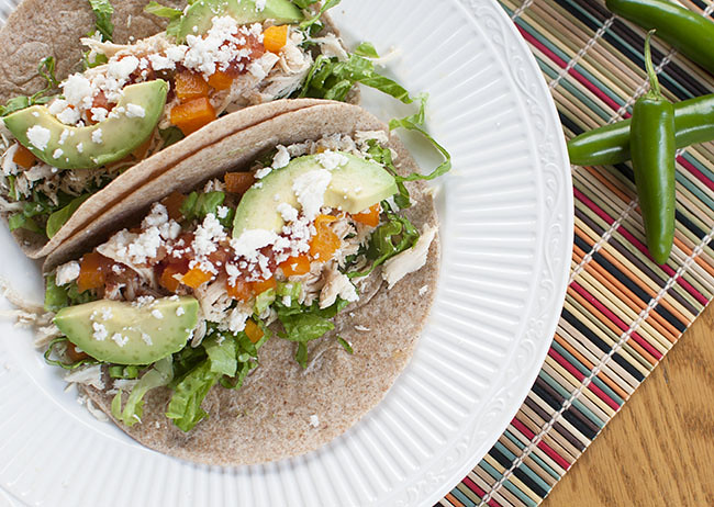Simple Chicken Tacos - Hey There Sunshine