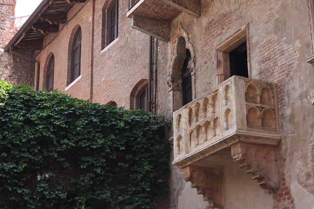 verona juliet's balcony