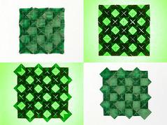 Origami - Blocks Tessellation