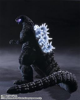 【官圖 & 販售資訊公開】發光!音效!超可動!究極哥吉拉可動玩具系列:S.H.MonsterArts輝響曲 哥吉拉 ゴジラ(1989)