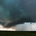 F2 Tornado Under Supercell by Kelly DeLay