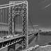 George Washington Bridge looking East by John Klos