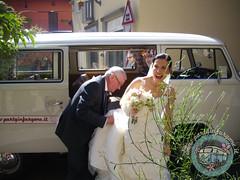 L'arrivo della sposa!