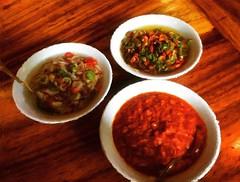 Chilli sauces...... #food #foodporn #foodart #indo…