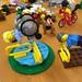 Ein wenig Sport für Rollstuhlfahrerin / Lego by Martin Ladstaetter
