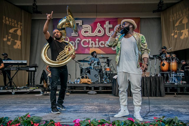 Tuba Gooding, Jr., ?uestlove & Black Thought, The Roots