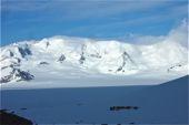 Patagonien, Südliches Inlandeis. Traumberg Cerro Mariano Moreno, 3471 m. Foto: Günther Härter.