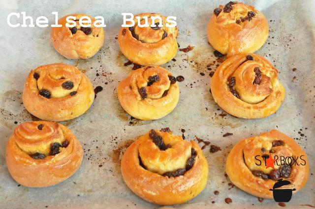 Gluten free Chelsea Buns