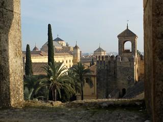 Imagen de Alcázar de los Reyes Cristianos cerca de Córdoba. cordoba alcazar mezquita espagne andalousie muraille andalousia cordoue alcázardelosreyescristianos