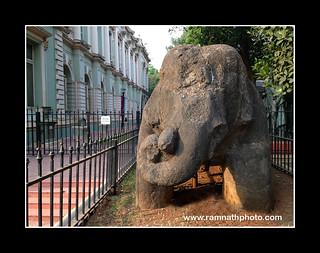 Elephant statue at Veermata Jijabai Bhosale Udyan, Mumbai