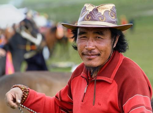 Tibetan Nomads are Masters on Horseback, Tibet 2014