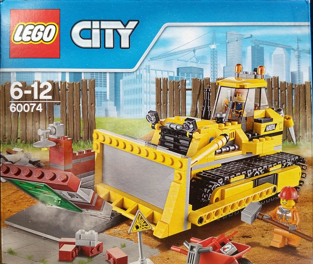LEGO 60074 City Demolition - Box