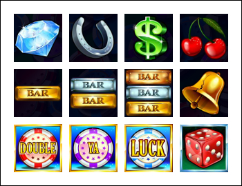 free Double Ya Luck! slot game symbols