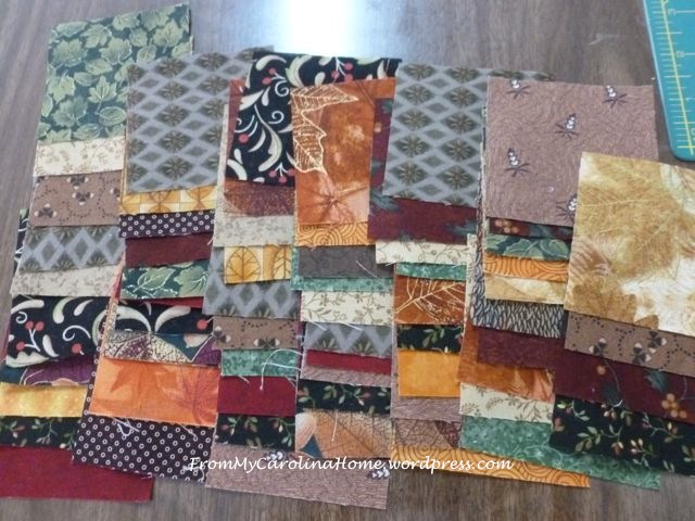 Mystery Quilt 2015 - The Fabrics