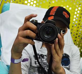 """R. se definiu como """"simplesmente fotógrafo"""" . Foto por Evelyn Carignano"""