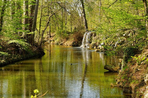 paris france spring printemps primavera boisdevincennes waterfall cascade park water lake d90 nikon 1685mmf3556 pantchoa françoisdenodrest pantxoa