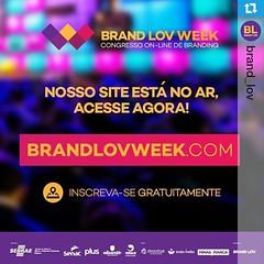 Que tal aprender 1 ano de branding em 7 dias? O Brandlov Week vai te presentear com palestras relevantes e úteis para impulsionar o seu negócio. *************** E o melhor disso tudo é que o evento é gratuito.se voce quiser impulsionar seus conhecimentos