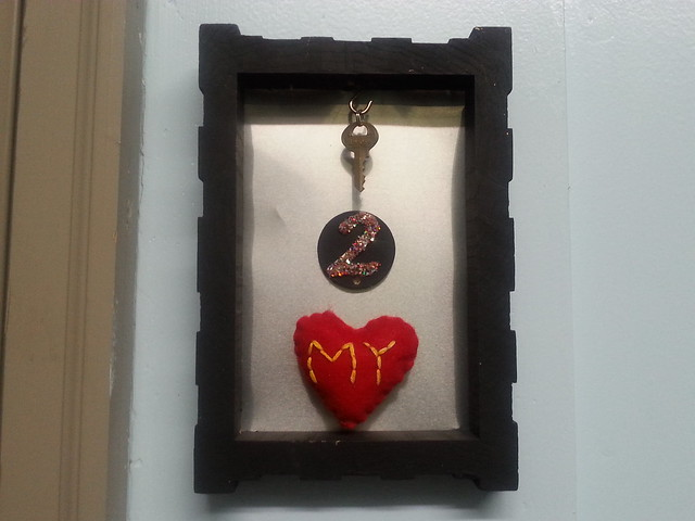 Key 2 My Heart Keyholder