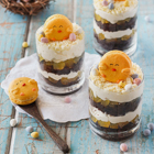 Easter Trifles (with Chick Macarons)