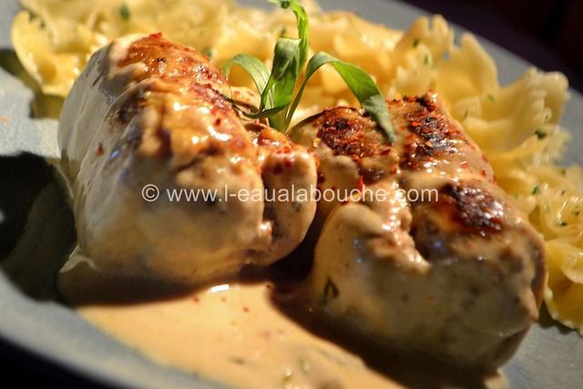 Paupiettes de Veau Sauce à la Moutarde et à l'Estragon  © Ana Luthi