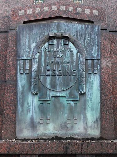 Bronzetafel mit Inschrift