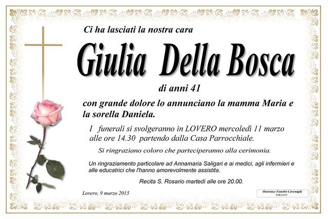 Della Bosca Giulia