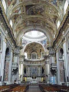 Santi Apostoli Church in Naples (1609-1649) - Architect Francesco Grimaldi