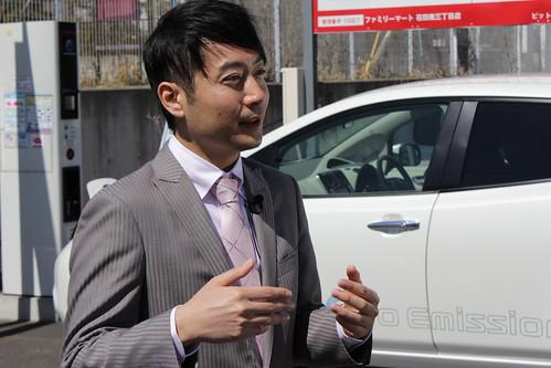 日産自動車 小川