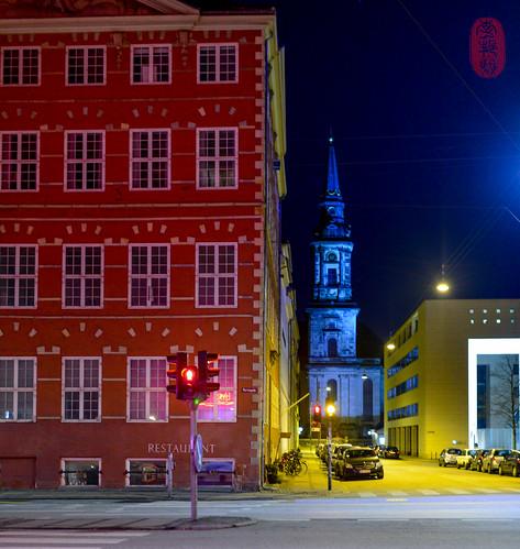 The colors of Copenhagen.