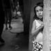 the shy girl // favela of rocinha - rio, brazil by pamela ross