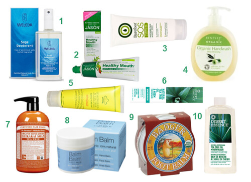 Tea Tree Oil in Beatuy Products for Body