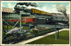 'Is Two over one Railroad Fare?' (Sixteenth and Dock), Richmond, Va.