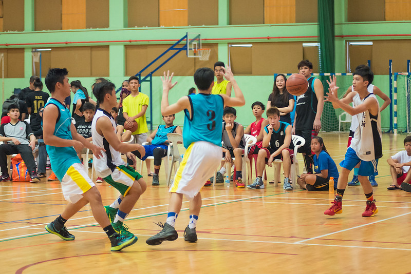 ActiveSG 3-on-3 Basketball Sports Challenge 2015