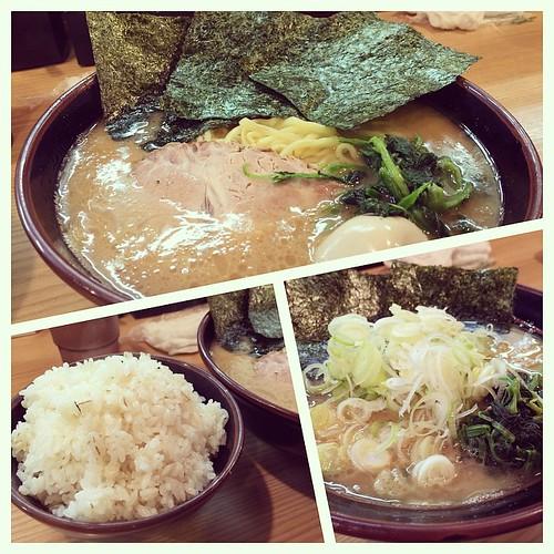 京都 北野白梅町 紫蔵のラーメン 横浜家系ラーメン&酒井製麺