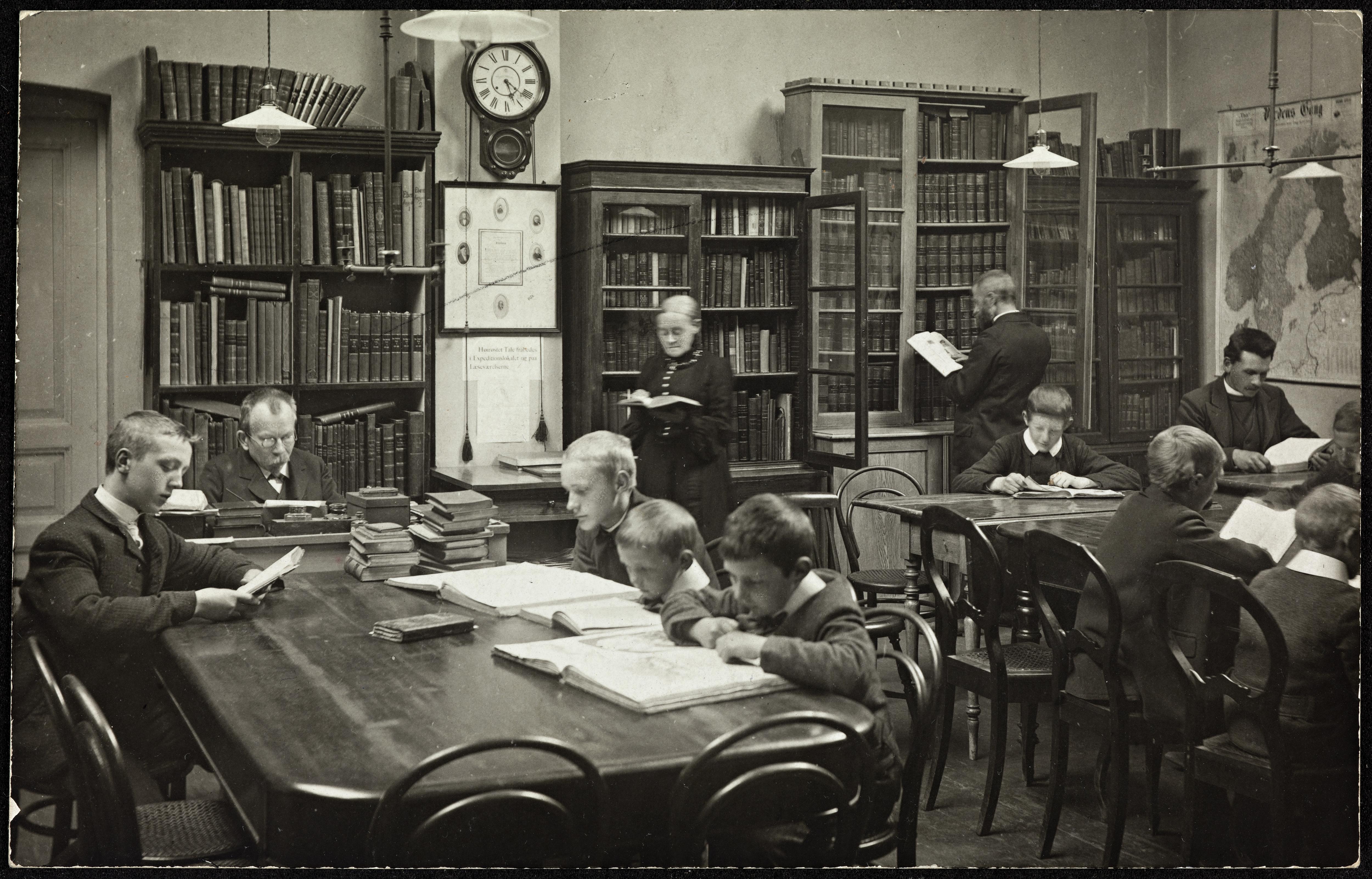 Bergens offentlige Bibliotheks Læsesal for Barn og Ungdom