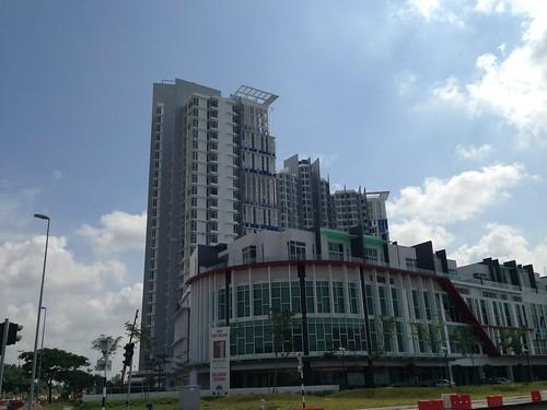 Development surrounding Medini, Nusajaya, Iskandar Malaysia, Johor Darul Takzim.