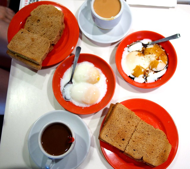 Yakun Coffeeshop - kaya toast, soft-boiled eggs, coffee and tea