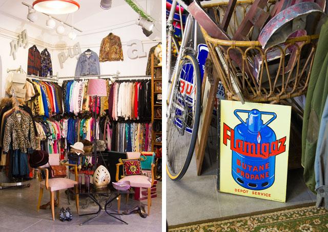 Vintage shopping in Barcelona