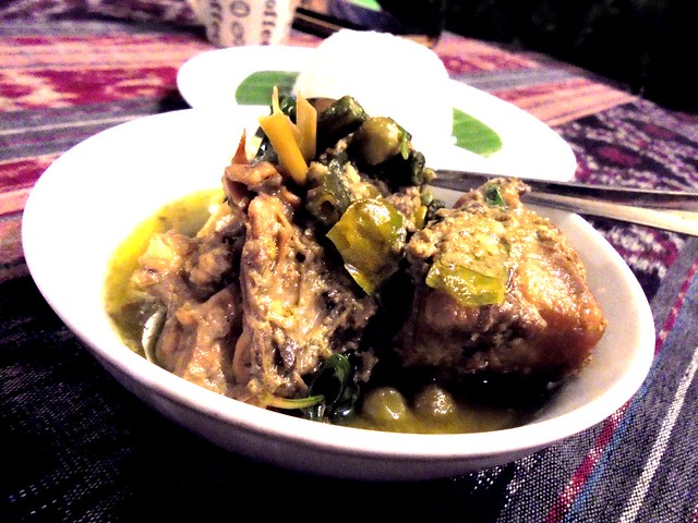 Payung green curry