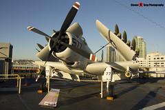 127922 NE-577 - 7937 - US Navy - Douglas AD-4W Skyraider - USS Midway Museum San Diego, California - 141223 - Steven Gray - IMG_6806