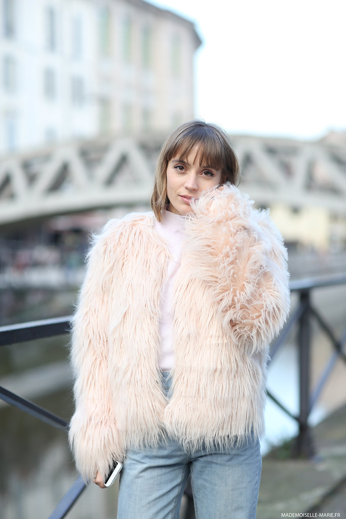 Street style Sp4nk, fashion blogger, Milan