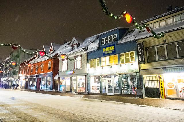 Calle principal de Tromsø