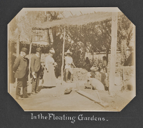 In the Floating Gardens.